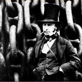 Isambard Kingdom Brunel med cigarr
