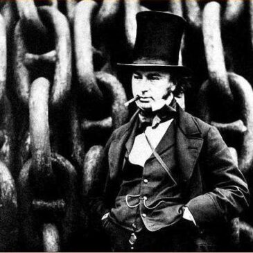 Isambard Kingdom Brunel med cigarr
